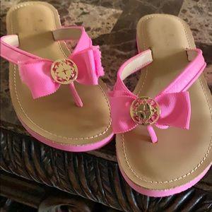 New size 7 1/2 Kate Spade sandles